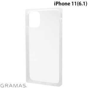 iPhone 11 ケース GRAMAS グラマス iPhone 11 Glassty Glass Hybrid Shell Case クリア CHCGP-IP02CLR ネコポス送料無料 ec-kitcut