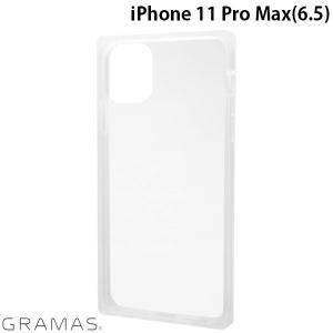 iPhone 11 Pro Max ケース GRAMAS グラマス iPhone 11 Pro Max Glassty Glass Hybrid Shell Case クリア CHCGP-IP03CLR ネコポス送料無料 ec-kitcut