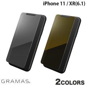 iPhone 11 / XR 保護フィルム GRAMAS iPhone 11 Protection Mirror Glass  グラマス ネコポス送料無料 ec-kitcut