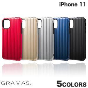 iPhone 11 ケース GRAMAS iPhone 11 Rib Hybrid Shell Case  グラマス ネコポス送料無料 ec-kitcut