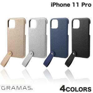 iPhone 11 Pro ケース GRAMAS iPhone 11 Pro TAIL PU Leather Shell Case  グラマス ネコポス不可 ec-kitcut