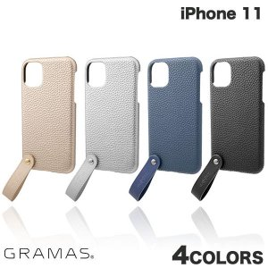 iPhone 11 ケース GRAMAS iPhone 11 TAIL PU Leather Shell Case  グラマス ネコポス不可 ec-kitcut