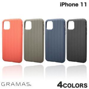 iPhone 11 ケース GRAMAS iPhone 11 Rib Light TPU Shell Case  グラマス ネコポス送料無料 ec-kitcut