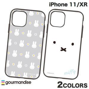 iPhone 11 / XR ケース gourmandise iPhone 11 / XR ケース IIIIfi+ イーフィット ミッフィー  グルマンディーズ ネコポス送料無料 ec-kitcut