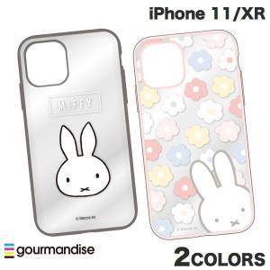 iPhone 11 / XR ケース gourmandise iPhone 11 / XR ケース IIIIfi+ イーフィット CLEAR ミッフィー  グルマンディーズ ネコポス送料無料 ec-kitcut