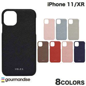 iPhone 11 / XR ケース gourmandise iPhone 11 / XR レザーケース VELES サフィアーノ  グルマンディーズ ネコポス送料無料|ec-kitcut