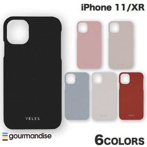 iPhone 11 / XR ケース gourmandise iPhone 11 / XR レザーケース VELES シュリンク  グルマンディーズ ネコポス送料無料|ec-kitcut