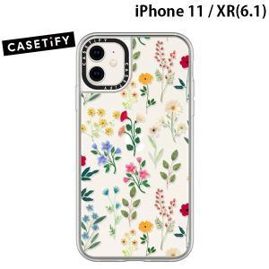 iPhone 11 / XR ケース Casetify ケースティファイ iPhone 11 / XR grip case Spring Botanicals2 CTF-5270081-16000067 ネコポス送料無料|ec-kitcut