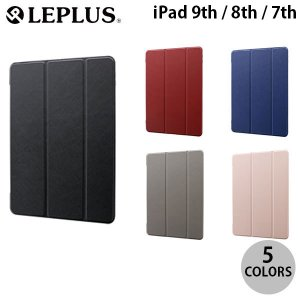 iPad 7th ケース LEPLUS iPad 7th 背面クリアフラップケース  Clear Note  ルプラス ネコポス送料無料|ec-kitcut