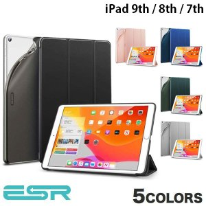 iPad 7th ケース ESR iPad 7th ウルトラスリム Smart Folio ソフトケ...