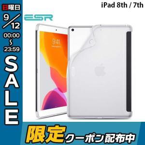 iPad 7th ケース ESR イーエスアール iPad 7th Smart Back Soft ...