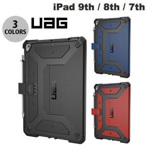 iPad 7th ケース UAG iPad 7th 耐衝撃 メトロポリスケース フォリオケース アッ...