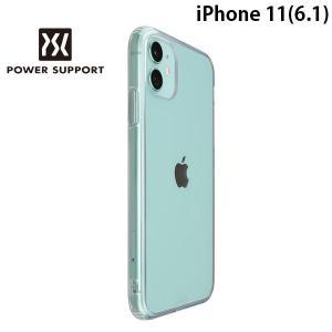 iPhone 11 ケース PowerSupport パワーサポート iPhone 11 Air Jacket Hybrid エアージャケット ハイブリッド クリア PSSK-31 ネコポス送料無料|ec-kitcut