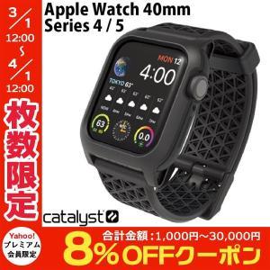 バンド Catalyst カタリスト Apple Watch 40mm Series 4 / 5 / 6 / SE 衝撃吸収ケース ブラック CT-IPAW1940-BK ネコポス不可|ec-kitcut
