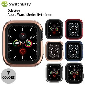 Apple watch Series5 / 4 44mm ケース SwitchEasy Apple Watch 44mm Series 4 / 5 / 6 / SE Odyssey アルミ TPU ケース スイッチイージー ネコポス送料無料|ec-kitcut
