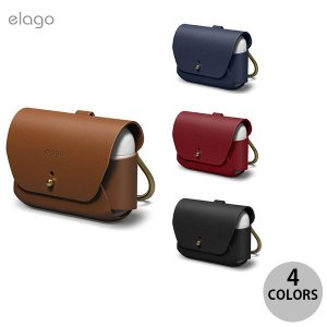 AirPods Pro ケース カバー elago AirPods Pro LEATHER CASE...