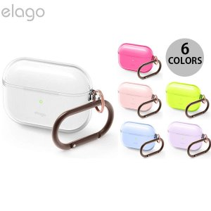 AirPods Pro ケース カバー elago AirPods Pro CLEAR CASE T...