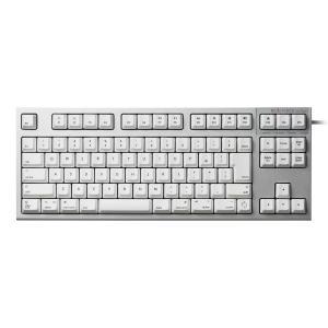 東プレ トープレ REALFORCE TKL for Mac 日本語配列 変荷重 91キー テンキーレスキーボード 無接点スイッチ シルバー/白 ネコポス不可|ec-kitcut