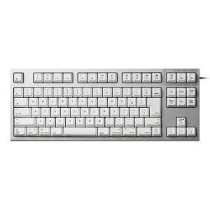 東プレ トープレ REALFORCE TKL SA for Mac 日本語配列 等荷重 91キー 静音テンキーレスキーボード 無接点スイッチ シルバー/白 ネコポス不可|ec-kitcut