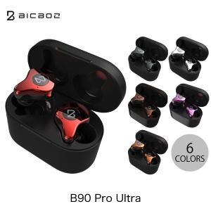 完全ワイヤレス イヤホン 独立 BICBOZ B90 Pro Ultra Bluetooth 5.0 完全ワイヤレスイヤホン IPX5 防水 Qi充電 対応 ビックボズ ネコポス不可|ec-kitcut