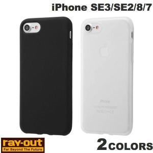 iPhone SE2 8 7 ケース Ray Out iPhone SE 第2世代 / 8 / 7 シリコンケース シルキータッチ  レイアウト ネコポス可|ec-kitcut