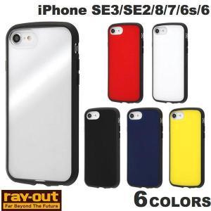 iPhone SE2 8 7 6s 6 ケース Ray Out iPhone SE 第2世代 / 8 / 7 / 6s / 6 耐衝撃ハイブリッドケース Puffull  レイアウト ネコポス可|ec-kitcut