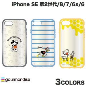 gourmandise iPhone SE 第2世代 / 8 / 7 / 6s / 6 ケース IIIIfi+ イーフィット clear ディズニーキャラクター グルマンディーズ ネコポス送料無料|ec-kitcut
