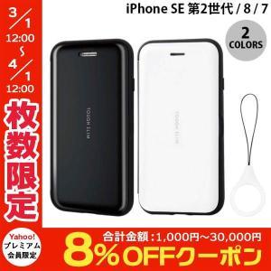 iPhone SE2 8 7 ケース エレコム iPhone SE 第2世代 / 8 / 7 TOUGH SLIM シェルフラップ  ネコポス不可|ec-kitcut