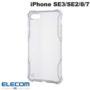 iPhone SE2 8 7 ケース エレコム ELECOM iPhone SE 第2世代 / 8 / 7 ZEROSHOCK スタンダード インビジブル クリア PM-A19AZEROTCR ネコポス送料無料|ec-kitcut