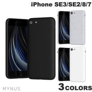 iPhone SE2 8 7 ケース MYNUS iPhone SE 第2世代 / 8 / 7 ミニマルデザイン エラストマーケース マイナス ネコポス送料無料|ec-kitcut