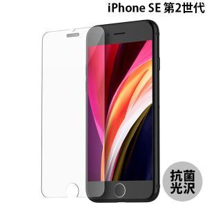 iPhone SE2 ガラスフィルム araree アラリー iPhone SE 第2世代 SUB CORE 抗菌強化ガラスフィルム 光沢 AR19138i9 ネコポス可|ec-kitcut