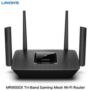 Linksys リンクシス MR9000X MAX-STREAM AC3000 トライバンド Wi-Fi 5 メッシュ ゲーミングルーター MR9000X-JP ネコポス不可|ec-kitcut
