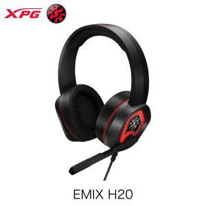 XPG エックスピージー EMIX H20 RGB USB接続専用 バーチャル 7.1 サラウンドサウンド ゲーミング ヘッドセット EMIX H20 ネコポス不可|ec-kitcut