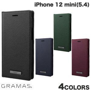 iPhone 12 mini ケース GRAMAS iPhone 12 mini EURO Passione PU Leather Book Case  グラマス ネコポス送料無料|ec-kitcut