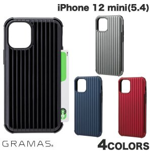 iPhone 12 mini ケース GRAMAS iPhone 12 mini Rib-Slide Hybrid Shell Case グラマス ネコポス送料無料|ec-kitcut
