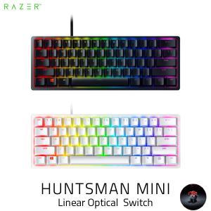 キーボード Razer Huntsman Mini 英語配列 静音リニアオプティカルスイッチ ゲーミング ミニキーボード レーザー ネコポス不可|ec-kitcut