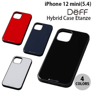 iPhone 12 mini ケース Deff iPhone 12 mini Hybrid Case Etanze  ディーフ ネコポス送料無料|ec-kitcut