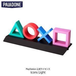 PALADONE パラドン PlayStation Icons Light PlayStation 公式ライセンス品 PLDN-004 ネコポス不可|ec-kitcut