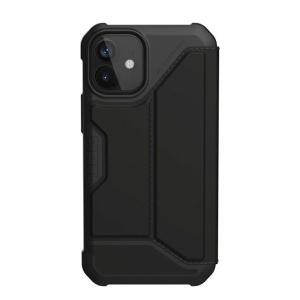 iPhone 12 mini ケース UAG ユーエージー iPhone 12 mini METROPOLIS 耐衝撃 フォリオケース PUブラック UAG-IPH20SF-BK ネコポス送料無料|ec-kitcut