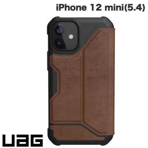iPhone 12 mini ケース UAG ユーエージー iPhone 12 mini METROPOLIS 耐衝撃 フォリオケース レザーブラウン UAG-IPH20SF-LBR ネコポス送料無料|ec-kitcut