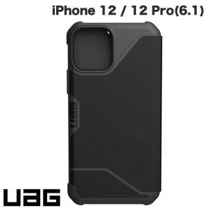iPhone 12 / 12 Pro ケース UAG ユーエージー iPhone 12 / 12 Pro METROPOLIS 耐衝撃 フォリオケース PUブラック UAG-IPH20MF-BK ネコポス送料無料|ec-kitcut