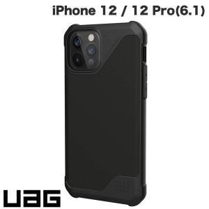 iPhone 12 / 12 Pro ケース UAG ユーエージー iPhone 12 / 12 Pro METROPOLIS LT 耐衝撃ケース PUブラック UAG-IPH20MFL-BK ネコポス送料無料|ec-kitcut