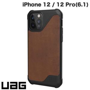 iPhone 12 / 12 Pro ケース UAG ユーエージー iPhone 12 / 12 Pro METROPOLIS LT 耐衝撃ケース レザーブラウン UAG-IPH20MFL-LBR ネコポス送料無料|ec-kitcut