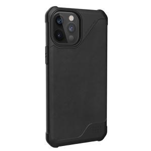 iPhone 12 Pro Max ケース UAG ユーエージー iPhone 12 Pro Max METROPOLIS LT 耐衝撃ケース レザーブラック UAG-IPH20LFL-LBK ネコポス送料無料|ec-kitcut