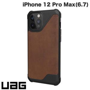 iPhone 12 Pro Max ケース UAG ユーエージー iPhone 12 Pro Max METROPOLIS LT 耐衝撃ケース レザーブラウン UAG-IPH20LFL-LBR ネコポス送料無料|ec-kitcut