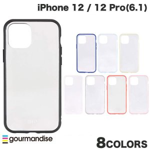 iPhone 12 / 12 Pro ケース gourmandise iPhone 12 / 12 Pro IIIIfi+ イーフィット CLEAR 抗菌  グルマンディーズ ネコポス送料無料 ec-kitcut