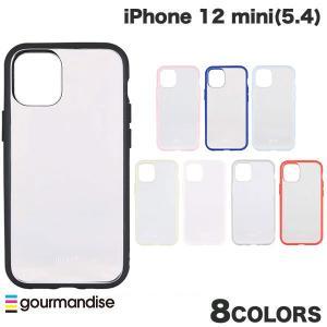 iPhone 12 mini ケース gourmandise iPhone 12 mini IIIIfi+ イーフィット CLEAR 抗菌  グルマンディーズ ネコポス送料無料 ec-kitcut