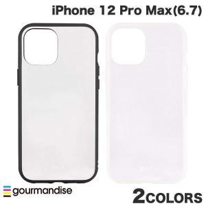 iPhone 12 Pro Max ケース gourmandise iPhone 12 Pro Max IIIIfi+ イーフィット CLEAR 抗菌  グルマンディーズ ネコポス送料無料 ec-kitcut