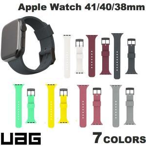 Apple Watch バンド UAG Apple Watch 38mm / 40mm U by DOT シリコンバンド 抗菌  ユーエージー ネコポス送料無料|ec-kitcut