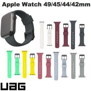 Apple Watch バンド UAG Apple Watch 42mm / 44mm U by DOT シリコンバンド 抗菌  ユーエージー ネコポス送料無料|ec-kitcut